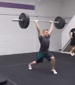 Congratulations to Stuart who nailed a clean and jerk PB at Friday's lifting meet