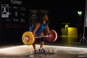 Mercy Brown took first place at the 2016 English Championships in the 75kg class with a 221kg total