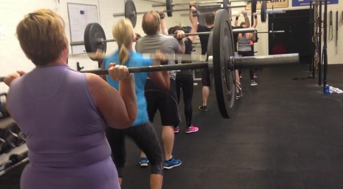 Coaching at CrossFit Blackwater gym in essex