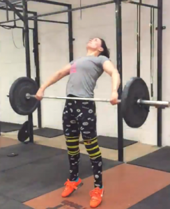 Christine Cope olympic lifting coach CrossFit Blackwater